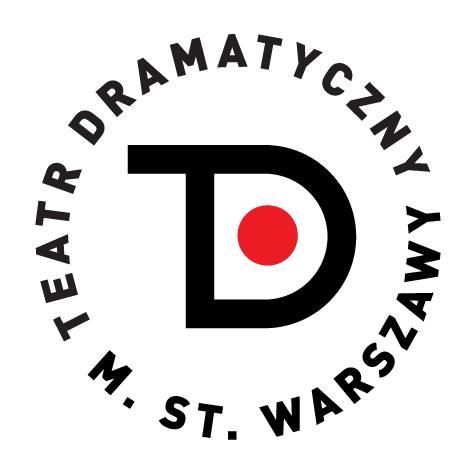 Logo Teatr Dramatyczny m. st. Warszawy
