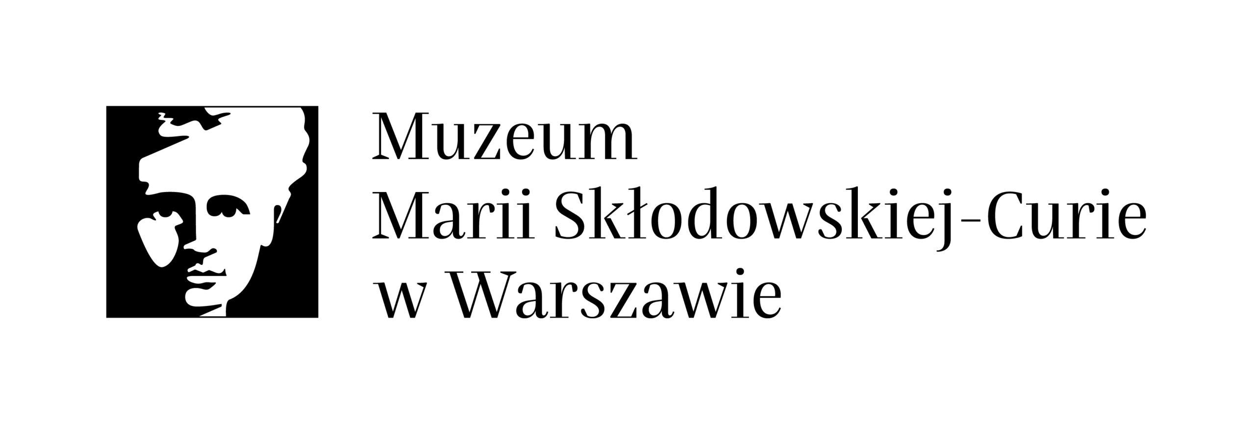 Logo Muzeum Marii Skłodowskiej-Curie w Warszawie