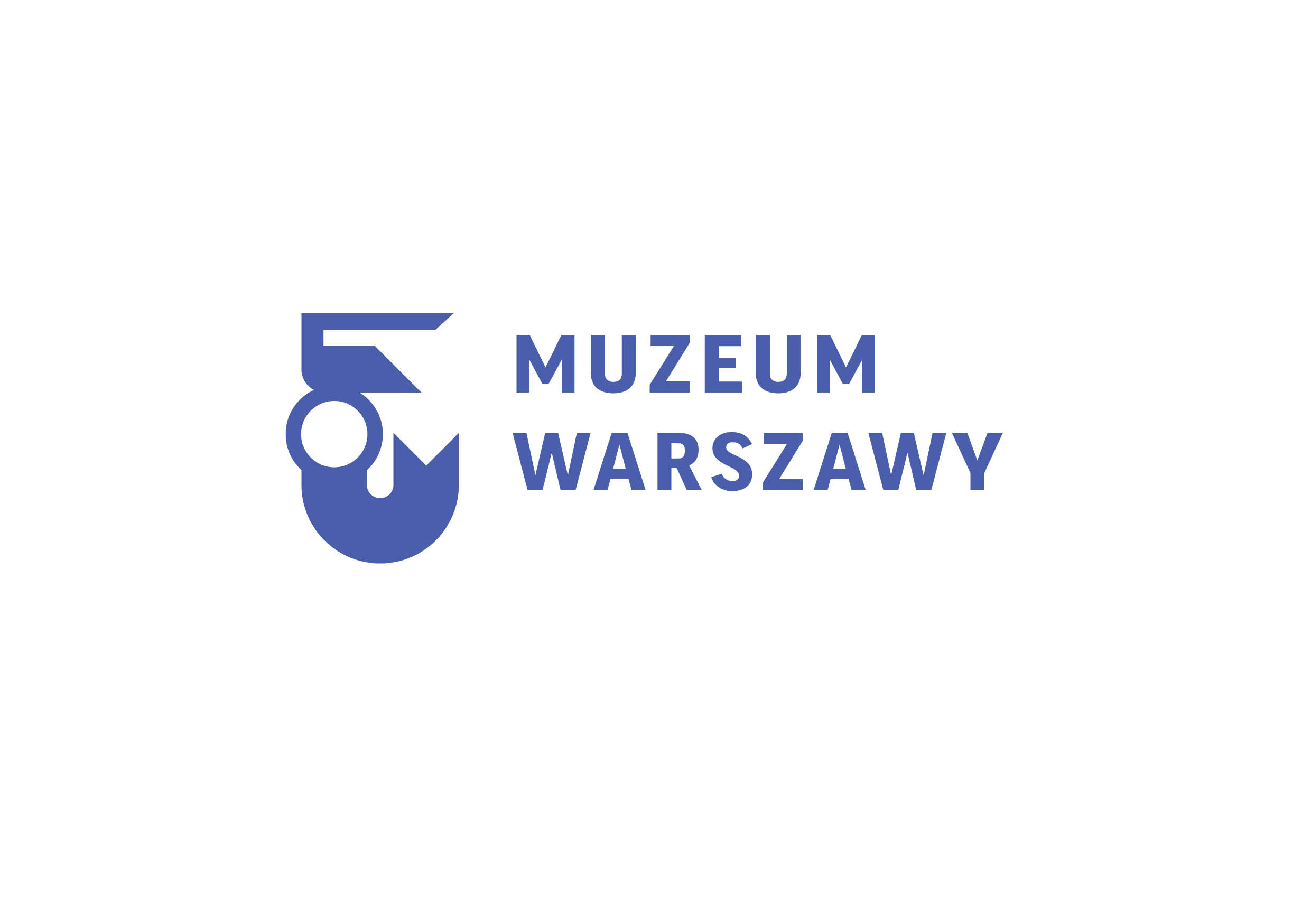 Logo Muzeum Farmacji, oddział Muzeum Warszawy