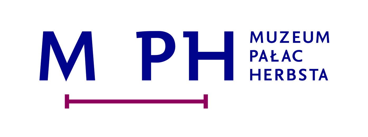 Logo Muzeum Pałac Herbsta, odział Muzeum Sztuki w Łodzi