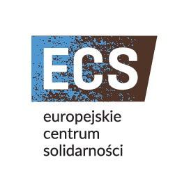 Logotyp Europejskiego Centrum Solidarności